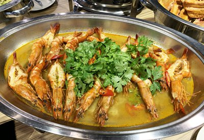 泰式清蒸蝦