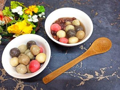 豆腐湯圓,豆腐湯圓食譜,豆腐湯圓材料,豆腐 湯圓,創意湯圓,冬至,木棉豆腐,黑豆木棉豆腐