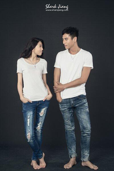情侶穿搭、婚紗、T-shirt