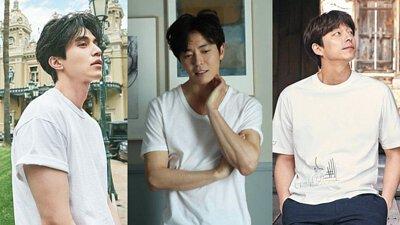 T-shirt,白T