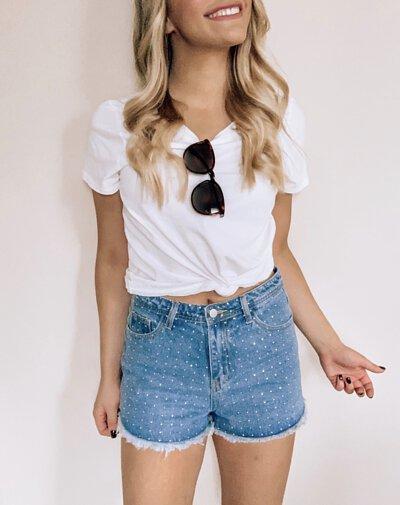 白t牛仔短褲5
