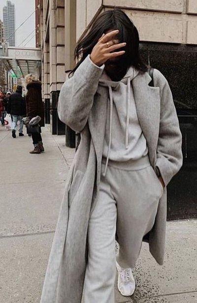 灰色棉褲穿搭-2