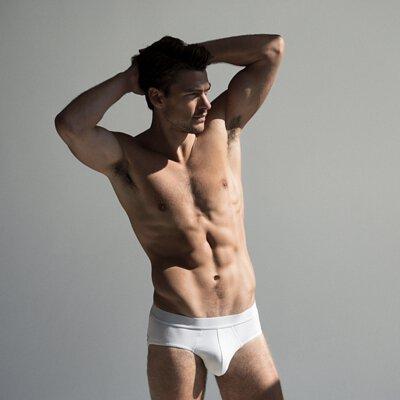 男用內褲推薦單品:Bread & Boxers Brief 舒適有機棉男用三角內褲-白