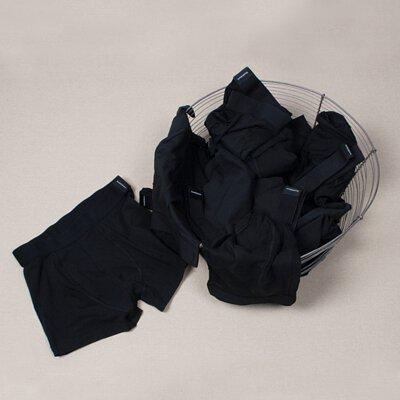 男用內褲推薦單品:Bread & Boxers莫代爾纖維男用四角褲-黑