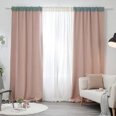 拉鍊窗簾-  90% 遮光窗簾 ❘ 哈囉Kitty(玩色)