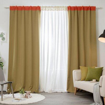 拉鍊窗簾- 90% 遮光窗簾玩色系列-芹菜蘿蔔汁