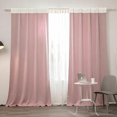 遮光窗簾 ❘ 草莓牛乳