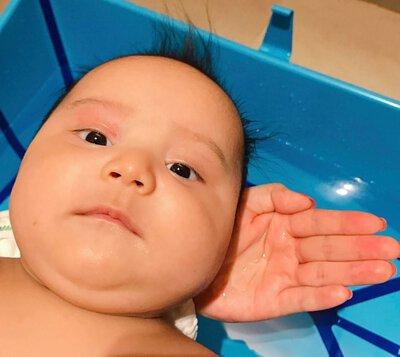 香港媽媽分享: bebble 薰衣草二合一洗髮沐浴露、初生寶寶套裝