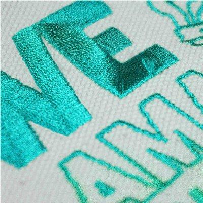 印刷方式:電繡、刺繡