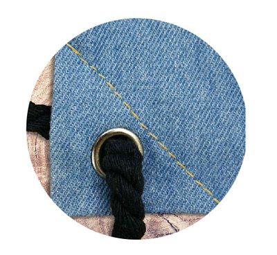 三角車縫線
