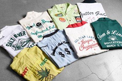 保齡球衫 / vintage古著襯衫 / 美式工裝 / 工裝穿搭男女