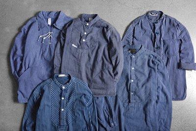 漁夫襯衫 / vintage古著襯衫 / 工裝 / 歐洲工裝 / 工裝穿搭