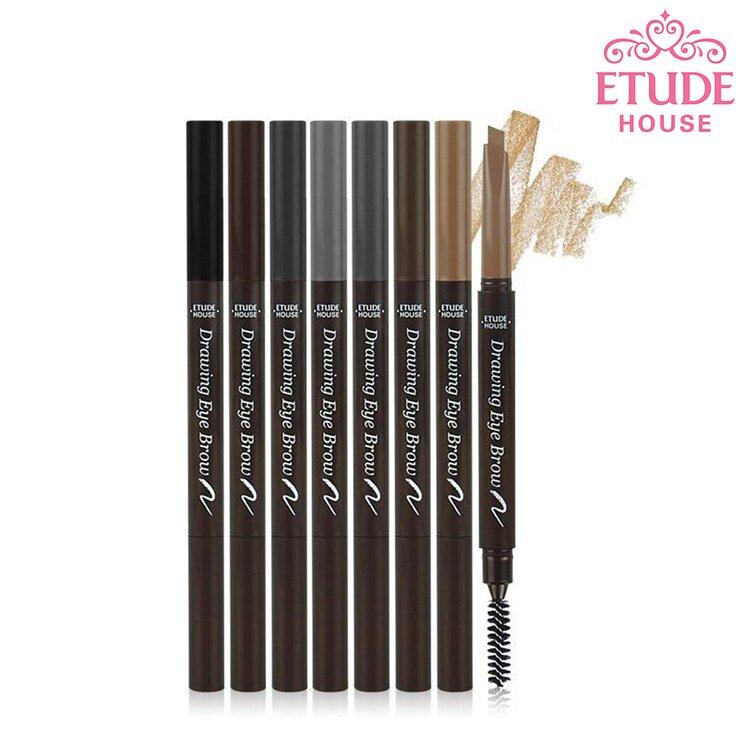ETUDE HOUSE 素描高手造型眉筆 雙頭式 韓國 多色可選 不易失手眉色