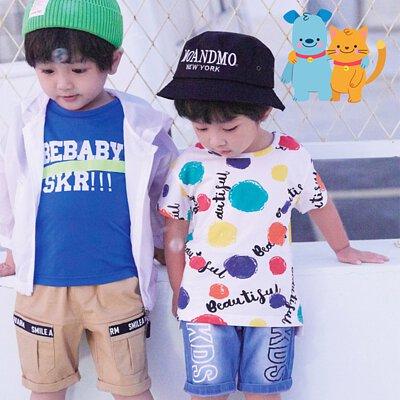 捷比童裝夏日新品上市中小童品牌