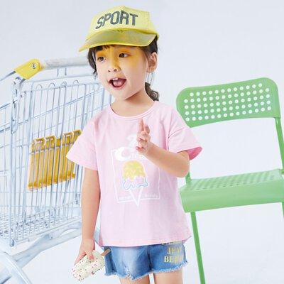 夏日短袖,棉質材質透氣涼爽,運動少女風,春夏新品