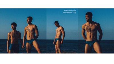 經典-DARE-貼身三角褲-墨水藍