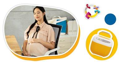 孕期放鬆|腰酸背痛 熱敷舒緩