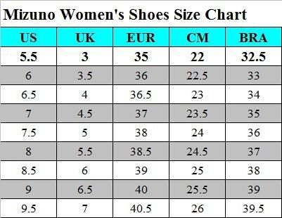 mizuno womens running shoes size 8.5 in cm womens