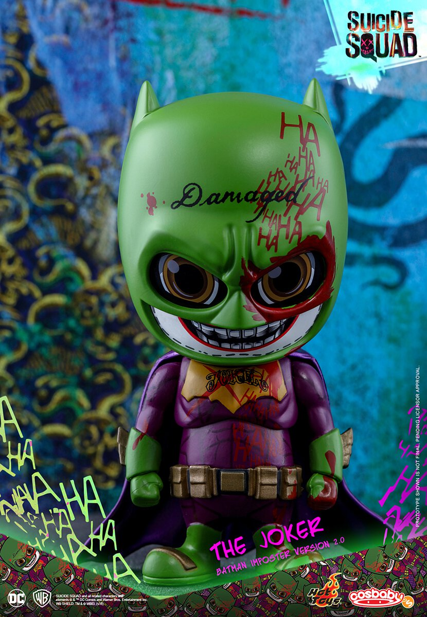 Hot Toys Suicide Squad The Joker Cosbaby Shirtless version