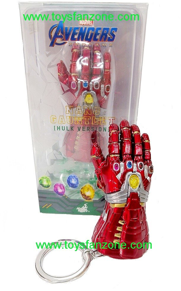Hot Toys Marvel Avengers End Game Nano Gauntlet Keychain Hulk Version