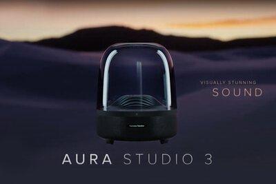 Harman-Kardon,Aura_Studio_3,無線藍牙喇叭,LED,環繞音響