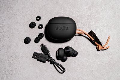 藍芽耳機|SUDIO|Tolv - 黑