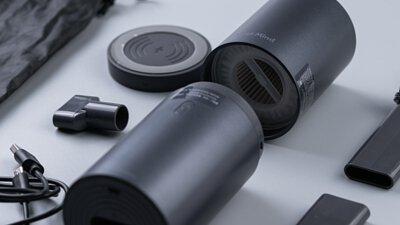 吸塵器居然如此羽量時尚!吸吹兩用、支援手機無線充電 - MEETMIND吸塵器