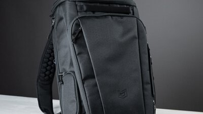 開箱BURON Xero Backpack 懸浮減壓背包