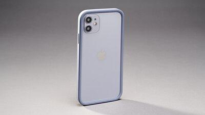 """最矛盾 iPhone 美殼!直邊框的柔和 - 開箱 """"指紋掰"""" UNIU Si Bumper 防摔矽膠框"""