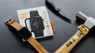 手腕上的暴力防衛盾!Apple Watch 螢幕最強支援 - 開箱 PanzerGlass 滿版玻璃貼