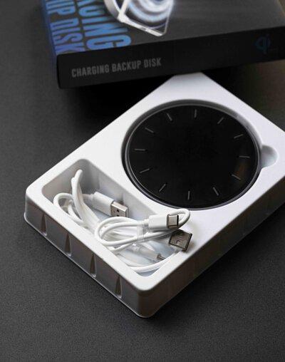 VAP 15W 無線傳檔充電盤,兩條type c充電線