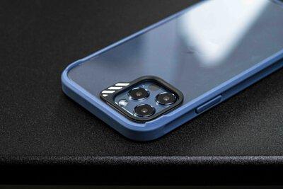 深藍款JTLEGEND Hybrid Cushion DX手機殼