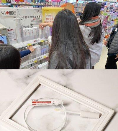薇佳用國外大廠的原料,台灣的實驗室研發生產
