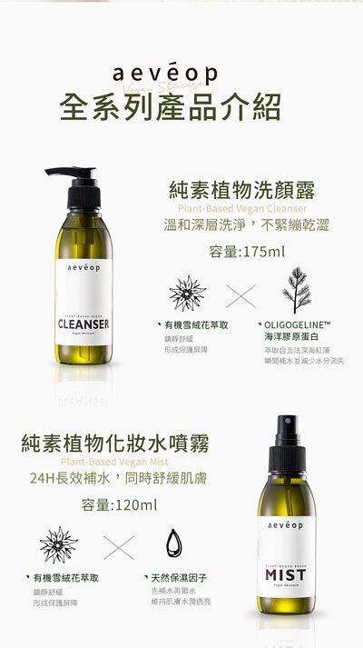 全系列產品介紹,洗顏露、化妝水噴霧