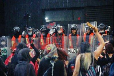 無聲的抗議-墨西哥