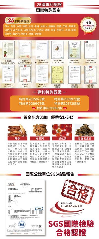 檢場推薦-日本輝龍【紅蚯蚓酵素】25國專利認證