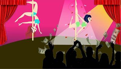 跳舞女郎因費洛蒙增加收入