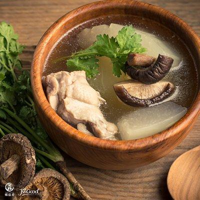 超簡單香菇心靈雞湯