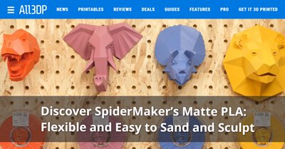 All3DP with SpiderMaker