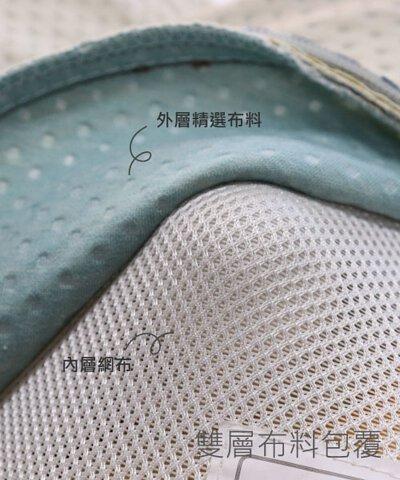 雙層布料包覆,避免與肌膚直接接觸,可拆卸清洗更加衛生環保。
