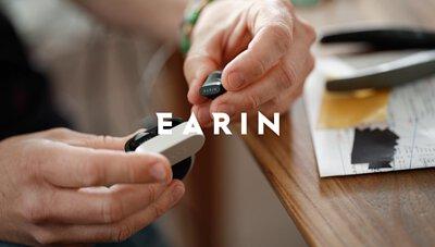 Earin, A-3, Truewireless, earphone, earbuds