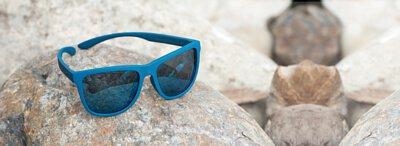 【INVU】瑞士超極化運動感偏光太陽眼鏡(藍) A2800E