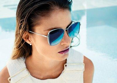 【INVU】瑞士東方雅質延展銀邊偏光太陽眼鏡(銀)Z1903B-亞洲限定款
