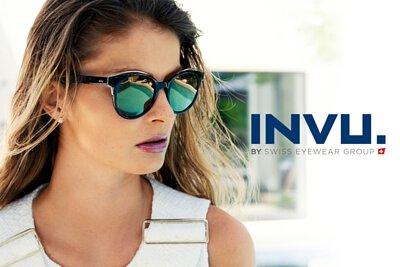 【INVU】瑞士金屬時尚偏光太陽眼鏡氣質款(黑色) B2939A