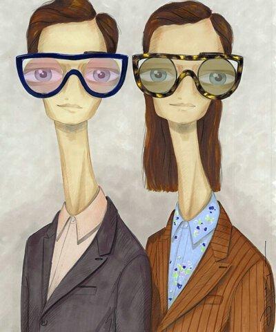 擁有無限藝術靈感的Alain Mikli ,在眼鏡設計上擁有強烈直覺與色彩配置的協調感,能將顏色與眼鏡營造出巴黎美感氛圍,不變的設計理念結合Oliver People概念在美學價值中取得平衡,無論創意及眼鏡製作技術上均超越傳統
