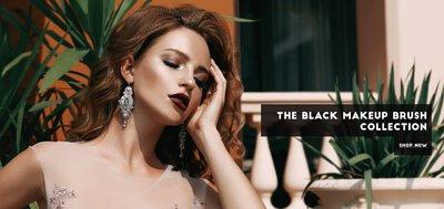 Rivau Beauty Black Makeup Brush Collection