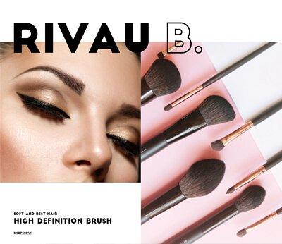 Rivau Beauty Eyeshadow Brush Face Brush  Makeup Brush