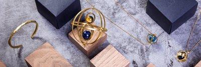 Kinetic Metalwork 本地手工製作 黃銅飾品