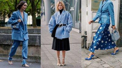 藍色,時尚,2020時尚趨勢
