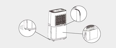 除濕機附加的實用功能